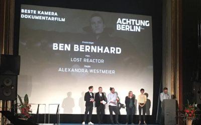 """""""Lost Reactor"""" gewinnt den Deutscher-Kamerapreis im Bereich Dokumentarfilm"""