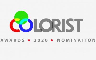 Nomination Colorist Award 2020