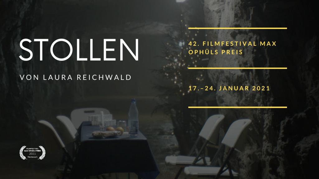 Max Ophüls Preis: Bester Dokumentarfilm geht an STOLLEN von Laura Reichwald!